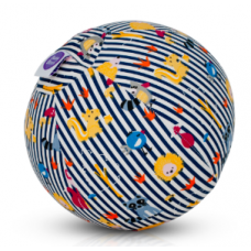 BubaBloon - Ballon gonflable avec housse en tissu - Blue Animal Stripes