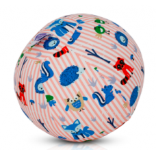 BubaBloon - Ballon gonflable avec housse en tissu - Pink Animal Stripes
