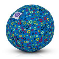 BubaBloon - Ballon gonflable avec housse en tissu - Blue Circles
