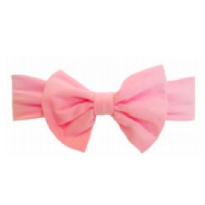 Baby Wisp - Big Bow Headband - Bandeau à grosse boucle - Rose