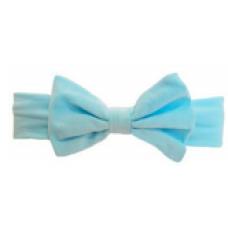 Baby Wisp - Big Bow Headband - Bandeau à grosse boucle - Bleu