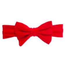 Baby Wisp - Big Bow Headband - Bandeau à grosse boucle - Rouge