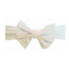 Baby Wisp - Big Bow Headband - Bandeau à grosse boucle - Blanc