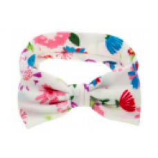 Baby Wisp - Big Bow Headband - Bandeau à grosse boucle - Île tropicale