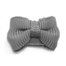 Baby wisp - Mini Latch Grosgrain Bow - Boucles pour les cheveux fins - Gris