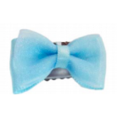 Baby wisp - Mini Latch Organza Bow - Boucles pour les cheveux fins - Bleu Cendrillon