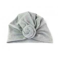 Baby Wisp - Chapeau turban à Noeud - Gris