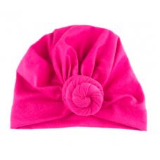 Baby Wisp - Chapeau turban à Noeud - Fuchsia