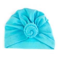 Baby Wisp - Chapeau turban à Noeud - Bleu