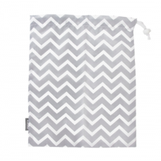 Kushies - Sac de transport imperméable - Chevron gris