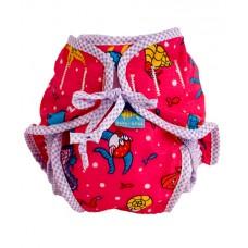 Kushies - Couche-maillot réutilisable - Imprimé rose