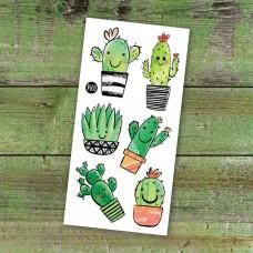 Pico Tatoo - Tatouage pour enfants - Les cactus coquins