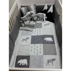 La Libellule - Carrément bébé - Ensemble de literie - Forêt Boréale