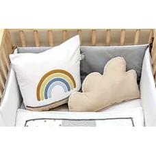 La Libellule - Carrément bébé - Arc-en-ciel - Coussins disponibles