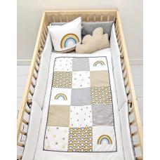 La Libellule - Carrément bébé - Ensemble de literie - Arc-en-ciel