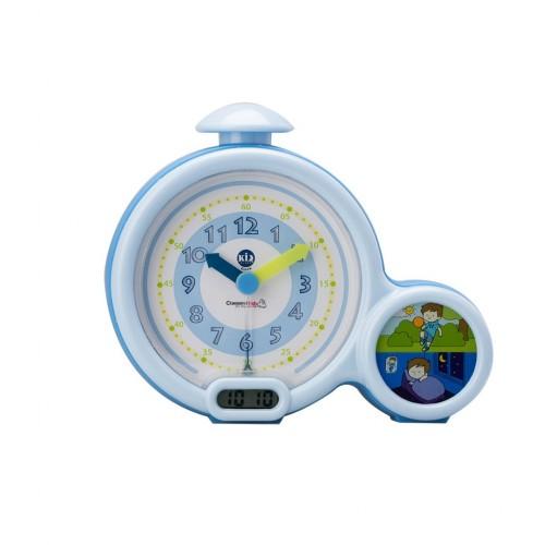 Claessens'Kids - Réveil-matin d'apprentissage - Première horloge Bleu