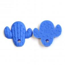 Bulle Bijouterie - Jouet de dentition Cactus Bleu royal