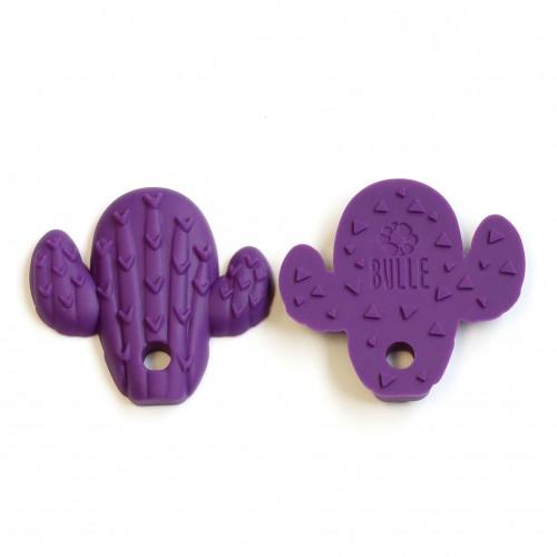 Bulle Bijouterie - Jouet de dentition Cactus Violet