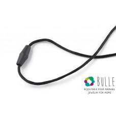 Bulle Bijouterie - Corde de remplacement et fermoir pour pendentif