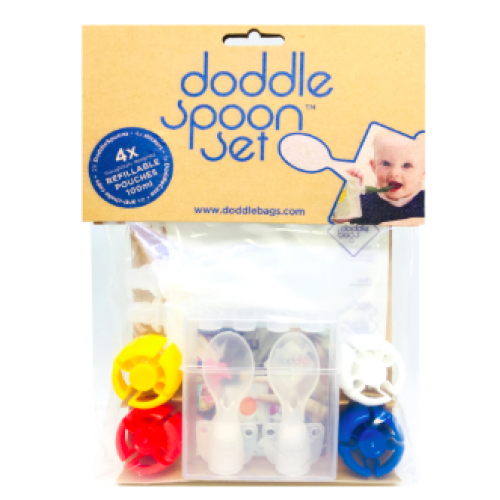 Doddle Creations - Ensemble Doodle Spoon - 16 morceaux