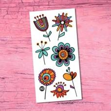 Pico Tatoo - Tatouage pour enfants - Les douces fleurs