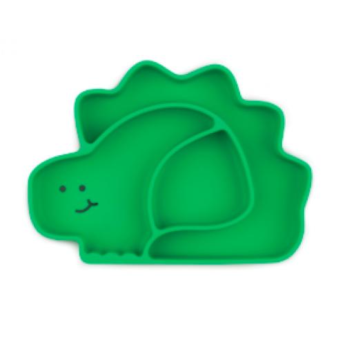 Bumkins - Assiette Grip Dish à succion - Dino