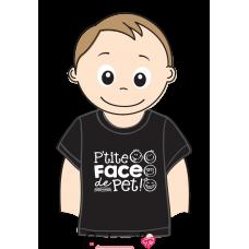 Bédaine Love - T-Shirt humoristique pour enfant - Face de pet