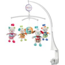 Baby Fehn - Mobile musical - Animaux