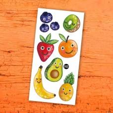 Pico Tatoo - Tatouage pour enfants - Les fruits en folie