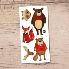 Pico Tatoo - Tatouage pour enfants - Hector le castor et ses amis