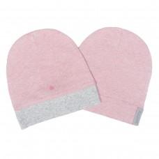 Juddlies - Raglan Collection - Rose Cornouiller - Lot de 2 bonnets bio