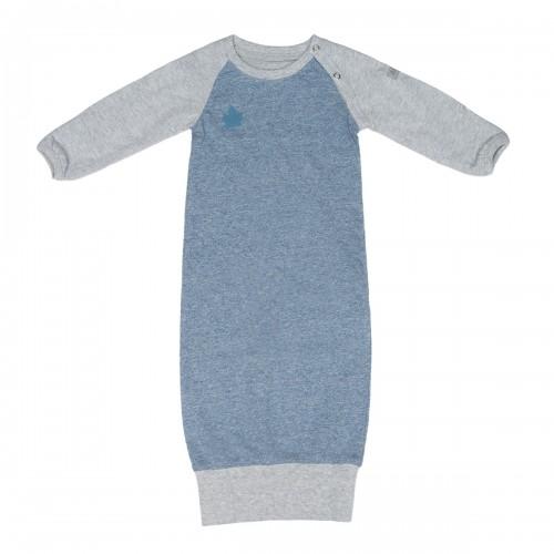 Juddlies - Raglan Collection - Bleu Jeans - Chemise de nuit bio