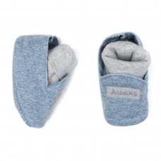 Juddlies - Raglan Collection - Bleu Jeans - Chausson bio Unisexe
