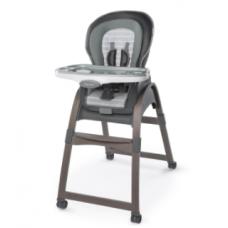 InGenuity - Chaise-haute en bois 3-en-1 - Bella Teddy