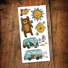 Pico Tatoo - Tatouage pour enfants - Kumbaya - Camping Car