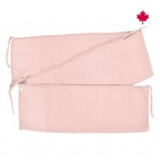 Perlimpinpin - Tour de lit solide - Rose pâle