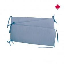Perlimpinpin - Tour de lit - bleu denin