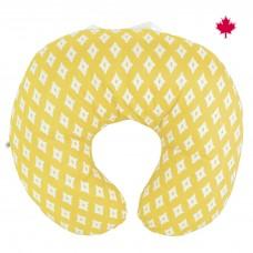 Perlimpinpin - Coussin d'allaitement en coton - Diamant jaune
