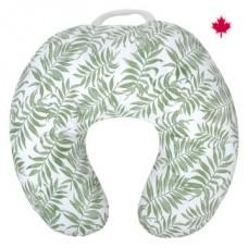 Perlimpinpin - Coussin d'allaitement en coton - Tropical vert