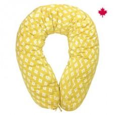 Perlimpinpin - Coussin de grossesse multifonctionnel - Diamant jaune