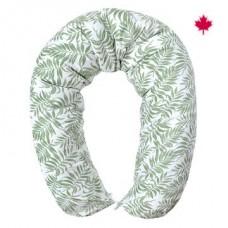 Perlimpinpin - Coussin de grossesse multifonctionnel - Tropical vert
