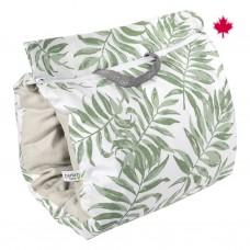 Perlimpinpin - Manchon d'allaitement - Vert tropical
