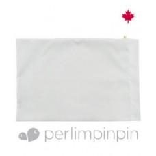 Perlimpinpin - Taie d'oreiller pour enfant - Blanc