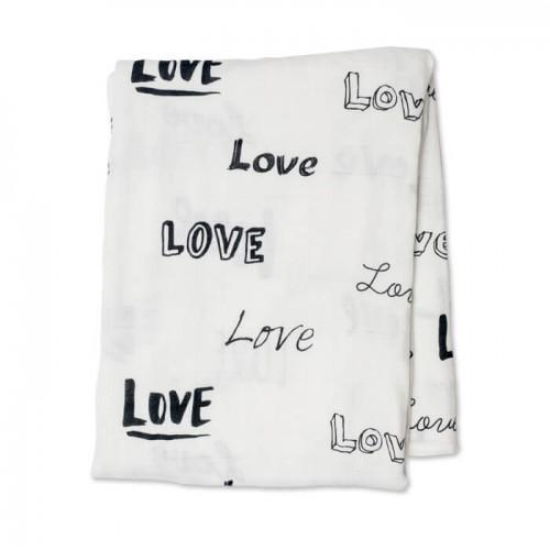 Lulujo - Mousseline de bamboo - Collection Moderne - Love