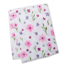 Lulujo - Mousseline de coton - Jolies fleurs