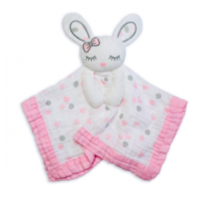 Lulujo - Mousseline Lovie - Lapin rose