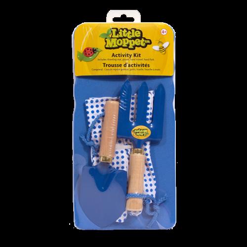 Bo-Jeux - Little Moppet - Ensemble d'activités de jardin - Bleu