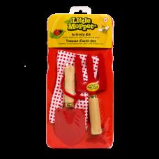 Bo-Jeux - Little Moppet - Ensemble d'activités de jardin - Rouge