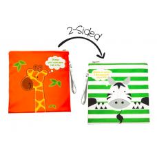 FlapJackKids - Sac imperméable réversible - Girafe / Zèbre
