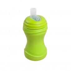 Re-Play - Gobelet à bec souple en plastique recyclé - Lime
